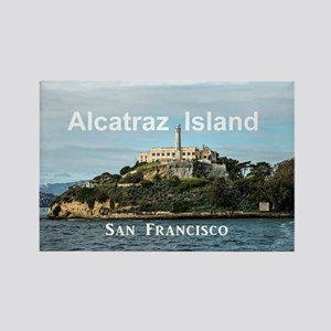SanFrancisco_18.8x12.6_AlcatrazIs Rectangle Magnet