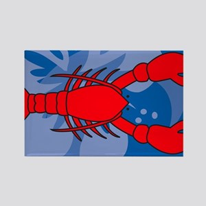 Lobster Yard Sign Rectangle Magnet