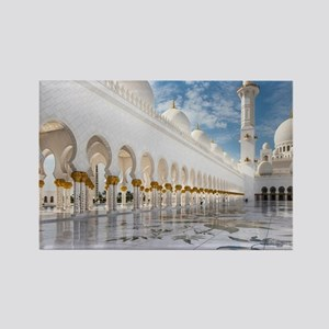 Sheikh Zayed Mosque Rectangle Magnet
