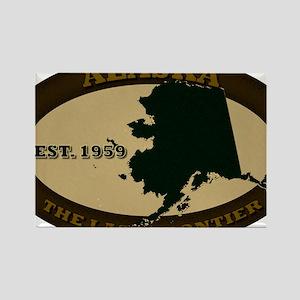 Alaska Est 1959 Rectangle Magnet