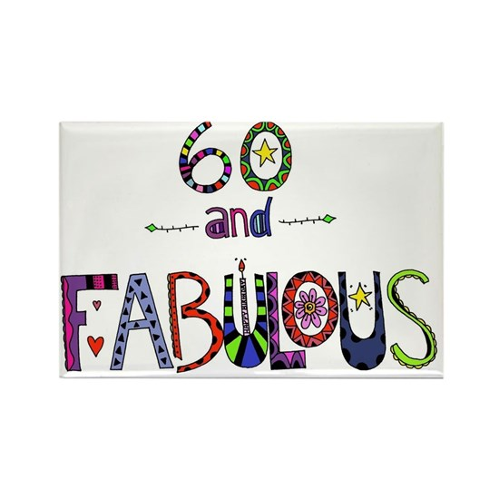60 and Fabulous 60th Birthday