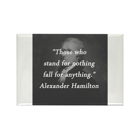 Hamilton - Stand for Nothing
