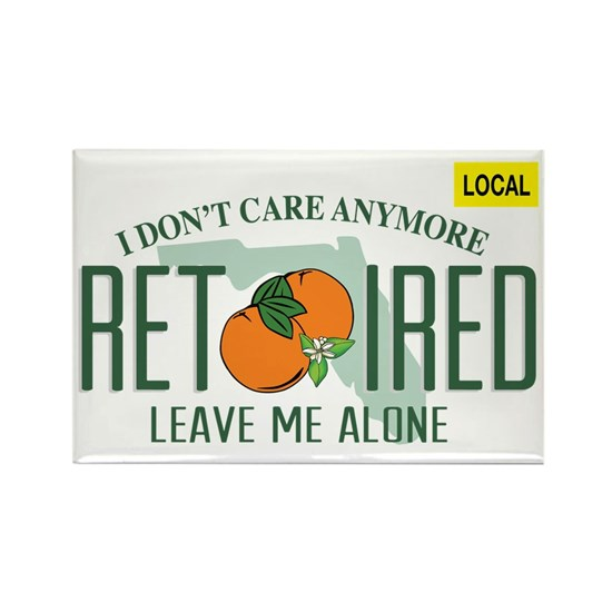 Funny Florida Retired License Plate