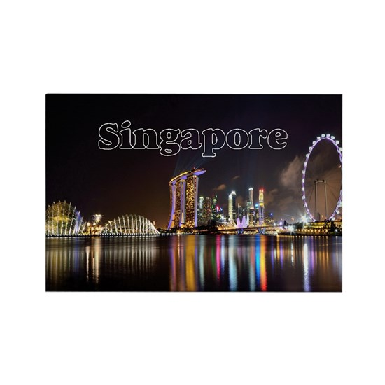 Singapore_2x3_magnet_Skyline
