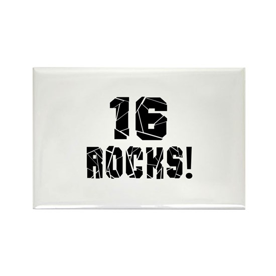 16 Rocks Birthday Designs