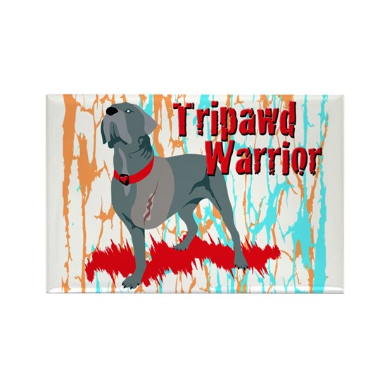 Tripawd Warrior 4x6 Card
