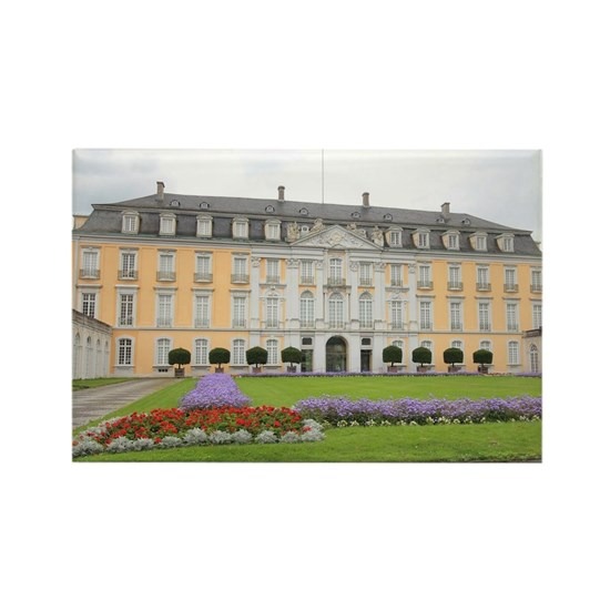 Augustusburg Palace Rectangle Magnet by Christine aka stine1 on Cafepress