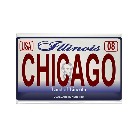 license-plate-illinois-CHICAGO
