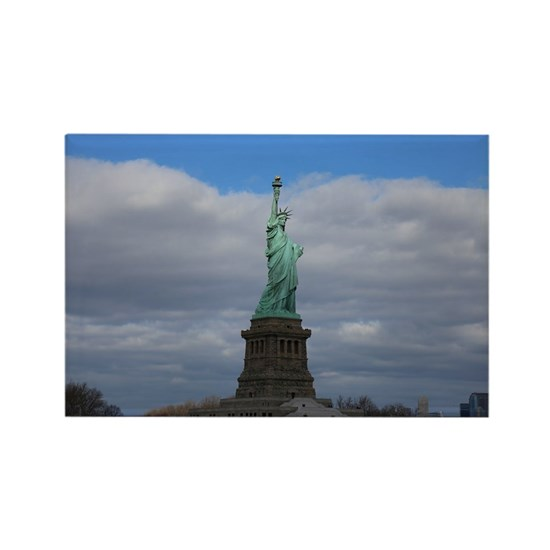 Statue of Liberty NYC s Rectangle Magnet by Christine aka stine1 on Cafepress