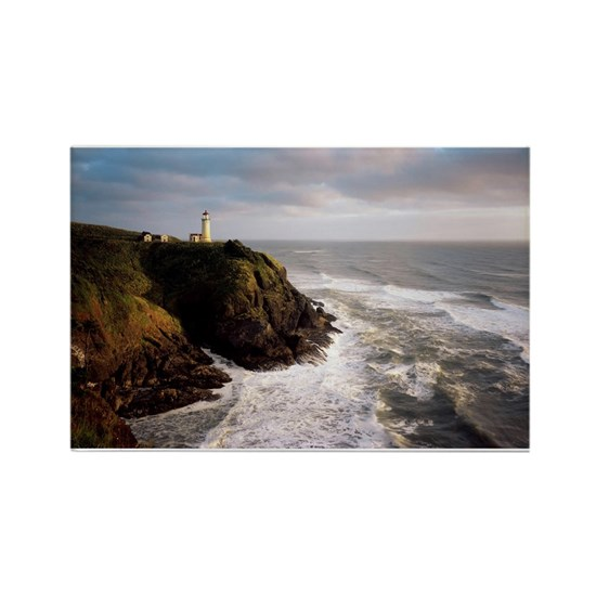 Lighthouse Warehouse Halifax: Nova Scotia Lighthouse Scene Rectangle Magnet By Listing