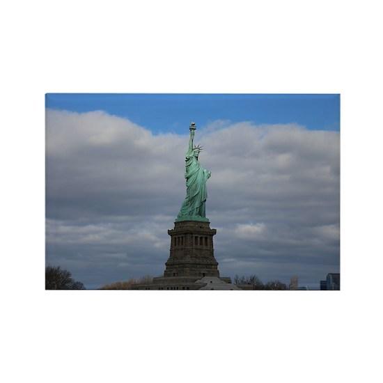 Statue of Liberty NYC s Rectangle Magnet by Christine aka stine1 on Cafepress