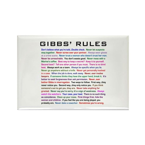 Gibbs Rules Complete Redone Finished and Correct