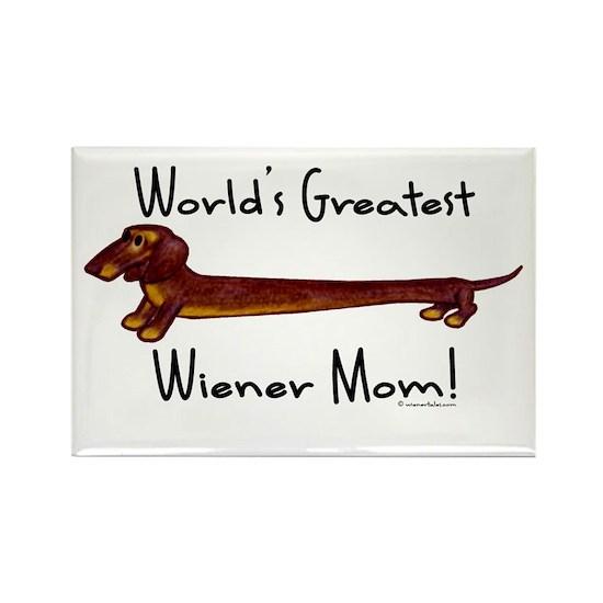 Wiener Dog Dachshund Mom