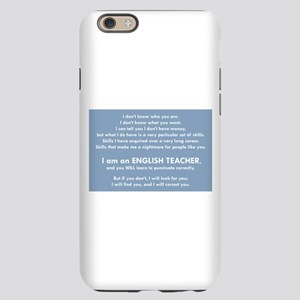 I Will Find You – Punctuation iPhone 6 Slim Case