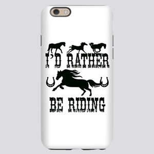 I'd Rather Be Riding Horses iPhone 6 Slim Case
