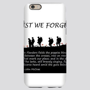 WWI Remembrance iPhone 6 Slim Case