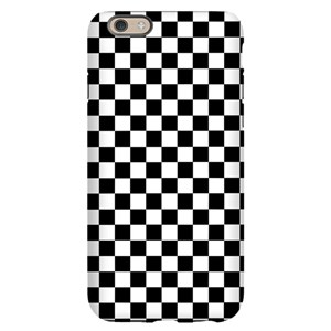 sports shoes 59f49 48c38 Black White Checkered iPhone 6/6s Slim Case