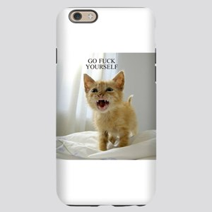Early Morning Kitty iPhone 6 Slim Case