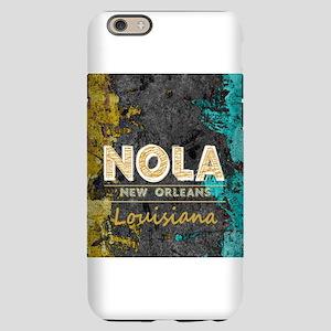 NOLA New Orleans Black Gold iPhone 6/6s Slim Case