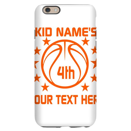Personalized Basketball Birthday