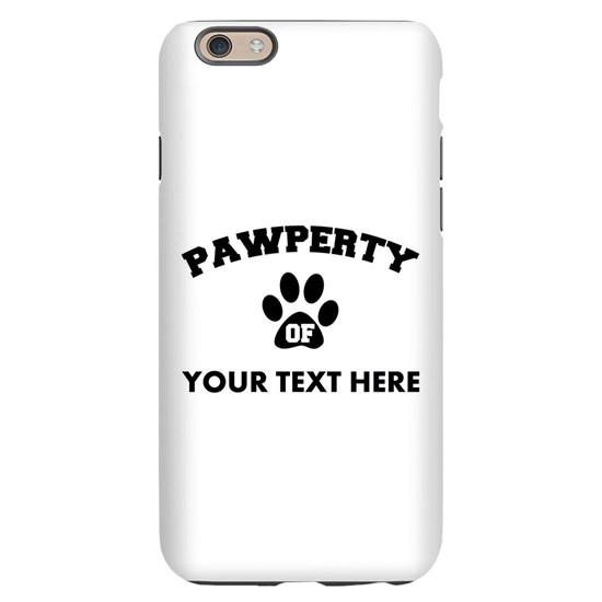 Personalized Dog Pawperty