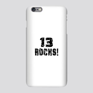 13 Rocks Birthday Designs iPhone Plus 6 Slim Case