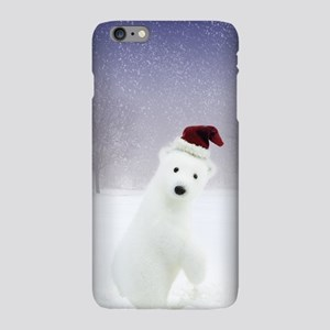 Christmas Polar Bear iPhone Plus 6 Slim Case