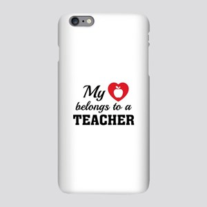 Heart Belongs Teacher iPhone Plus 6 Slim Case