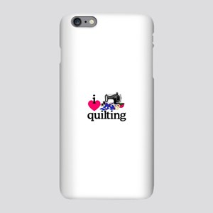 I Love Quilting/Machine iPhone Plus 6 Slim Case
