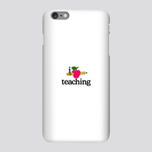 I Love Teaching/Apple & Pencil iPhone Plus 6 Slim