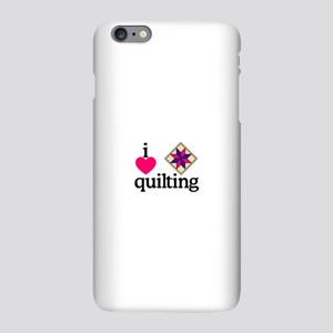 I Love Quilting/Square iPhone Plus 6 Slim Case