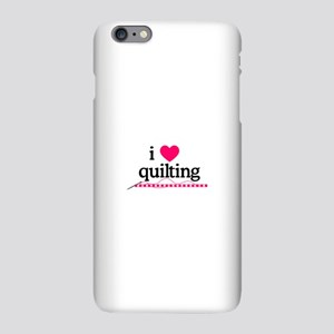 I Love Quilting/Border iPhone Plus 6 Slim Case