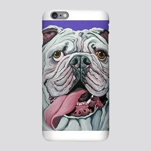 White English Bulldog iPhone Plus 6 Slim Case
