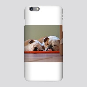2 sleeping bulldogs iPhone 6 Plus/6s Plus Slim Cas