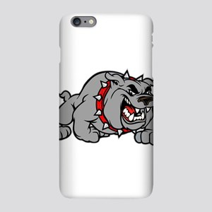 grey bulldog iPhone Plus 6 Slim Case
