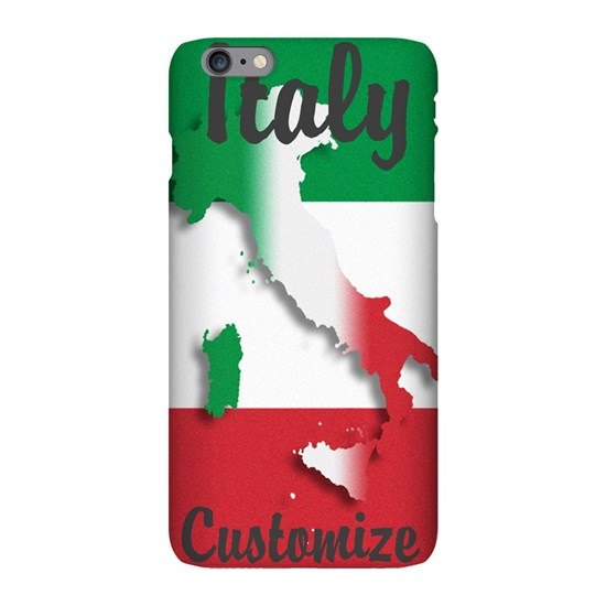 Customized Italy Italian Flag