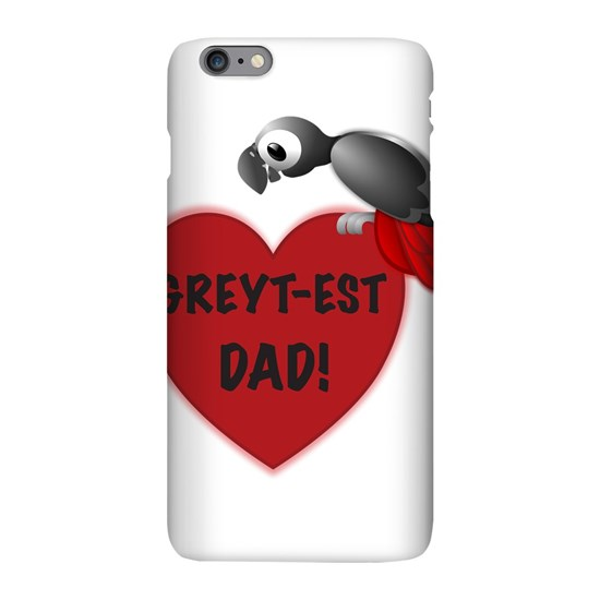 Greyt-est Dad! - African Grey Parrot Greatest Dad