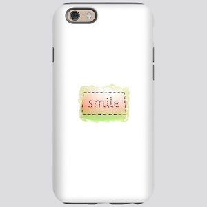 Smile Logo Melon and Lime iPhone 6 Tough Case