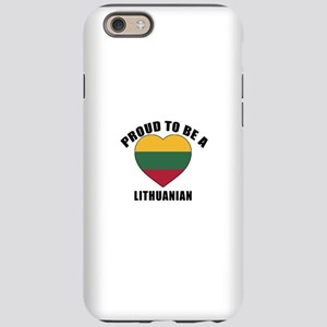 Lithuanian Patriotic Design iPhone 6/6s Tough Case