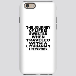 Traveled With Lithuanian Li iPhone 6/6s Tough Case