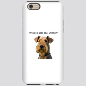 Confident Airedale Knows He's iPhone 6 Tough Case