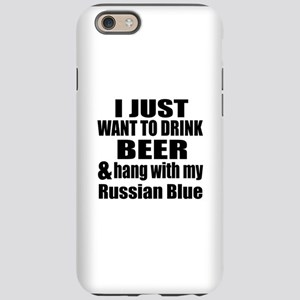 Hang With My Russian Blue iPhone 6/6s Tough Case