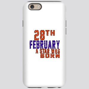 28 February A Star Was Born iPhone 6/6s Tough Case