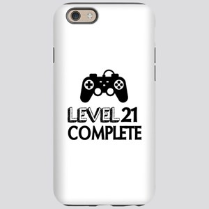Level 21 Complete Birthday iPhone 6/6s Tough Case