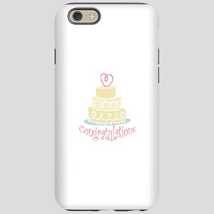 Congratulations Cake iPhone 6 Tough Case