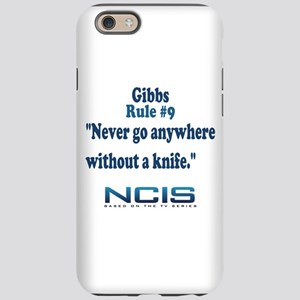 Gibbs Rule #9 iPhone 6 Tough Case