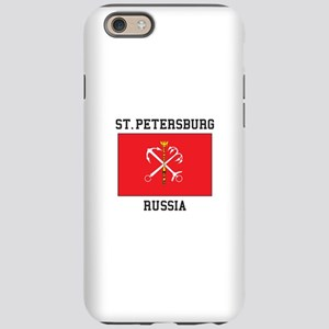 St. Petersburg Flag iPhone 6 Tough Case