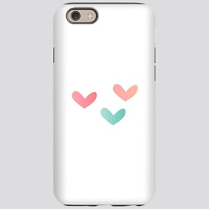 Multicolored Hearts iPhone 6 Tough Case