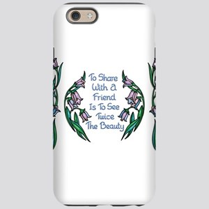 Sharing With a Friend Flower F iPhone 6 Tough Case