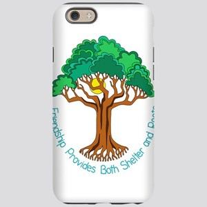 Bright Colored Friendship Tree iPhone 6 Tough Case